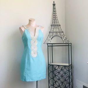 Lilly Pulitzer Serene Blue Valli Shift Dress